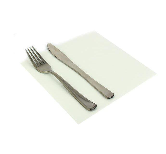 serviette blanc